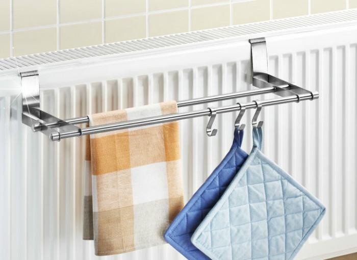Идеальное приспособления для сушки кухонных полотенец