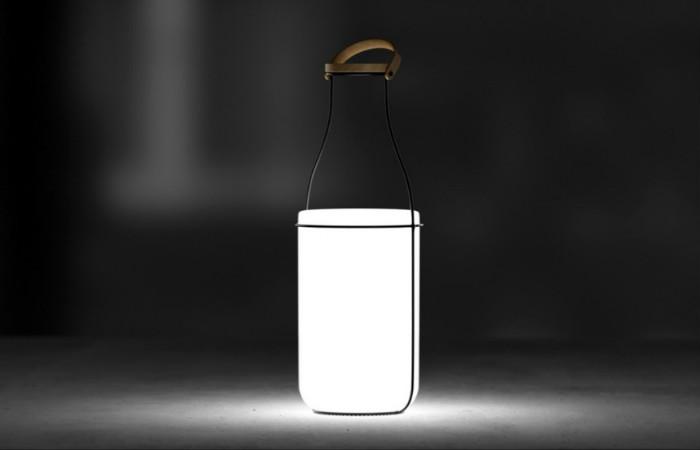 Светильник в ретро-стиле