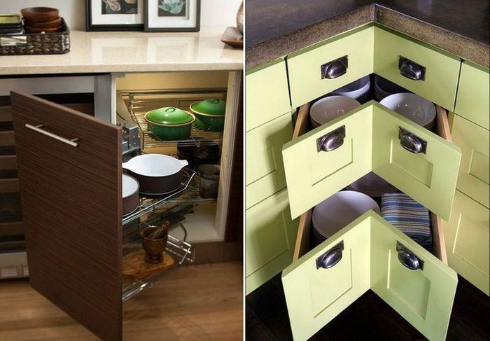 Как разместить всё необходимое на маленькой кухне, и правильно организовать пространство?