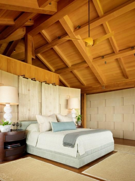 Оформление спальной комнаты в стиле минимализм подразумевает отсутствие лишних деталей в интерьере.