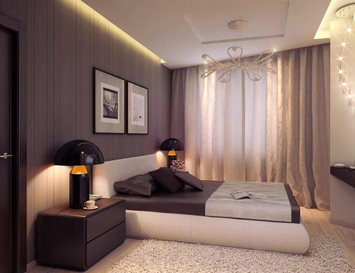 Минималистский стиль поможет сделать спальную комнату не только современной, но и комфортной.