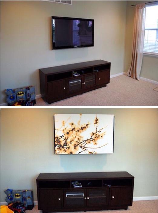 Гениальное решение для тех, кто нечасто пользуется телевизором.