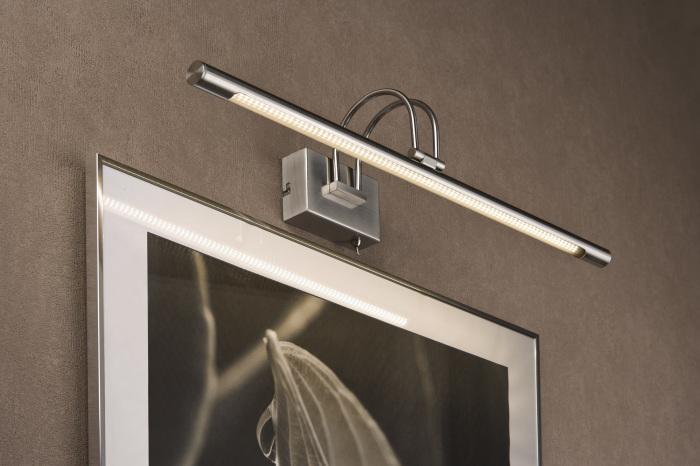 В современном интерьере широко используются светодиодные светильники необычной формы.