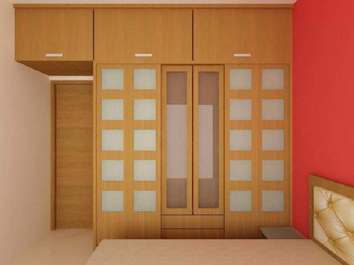 Необычным, но правильным решением для маленькой спальни станет модульная мебель высокого качества.
