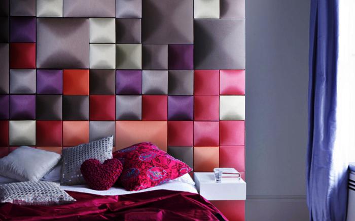 Восхитительные идеи для создания необычного изголовья кровати.