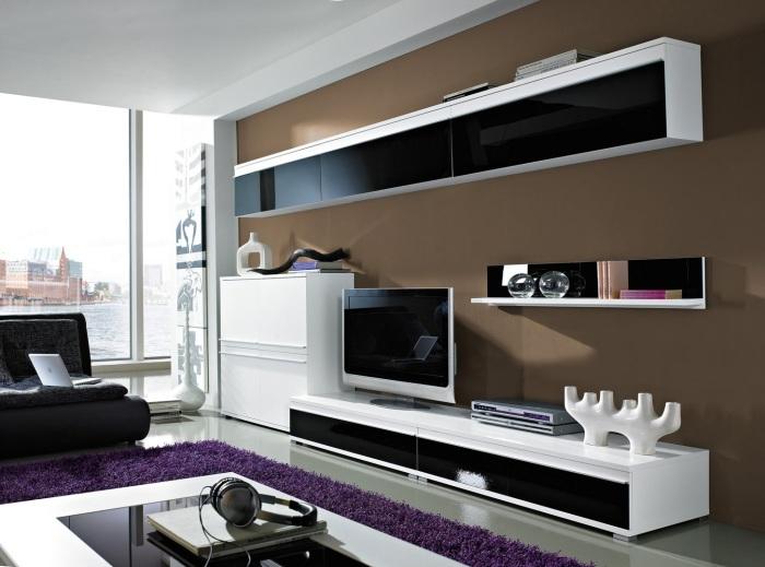 Современная гостиная комната - лучшее место для спокойного отдыха, домашних развлечений и приёма гостей.