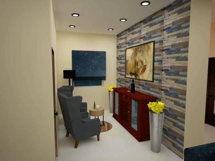 Очень маленькая, но по-настоящему оригинальная спальная комната в минималистском стиле, которая привносит атмосферу покоя, отдыха и релаксации.