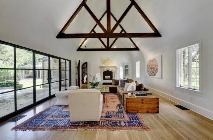 Крутые идеи для тех, кто мечтает об уникальном интерьере в гостиной комнате.