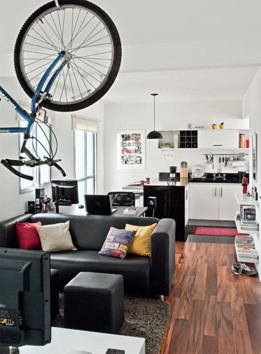Грамотно обустроенная однокомнатная квартира, в которой все без излишеств.