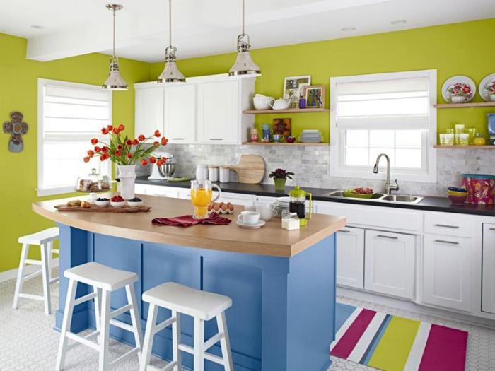 Лаконичное, но при этом выразительное интерьерное решение, которое позволит создать сказочную атмосферу в интерьере кухни.