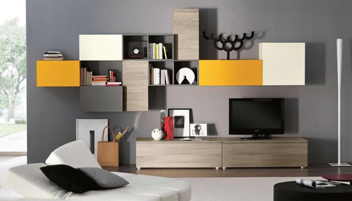 Модульные гостиные в современном стиле - идеальный вариант, который можно использовать в каждой квартире.
