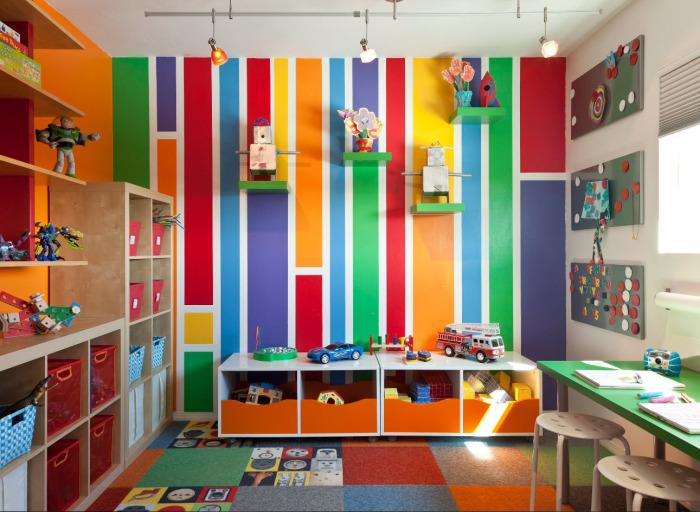 От выбора цветов и оттенков обоев зависит психоэмоциональное развитие ребёнка.