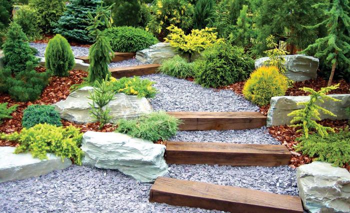 Великолепные идеи по обустройству альпийских горок, которые преобразят садовый участок.