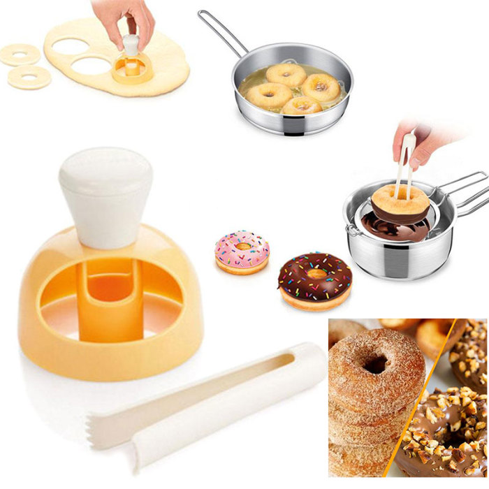 Аксессуар, который не занимает много места и позволяет сделать пончики на всю семью за считанные минуты.