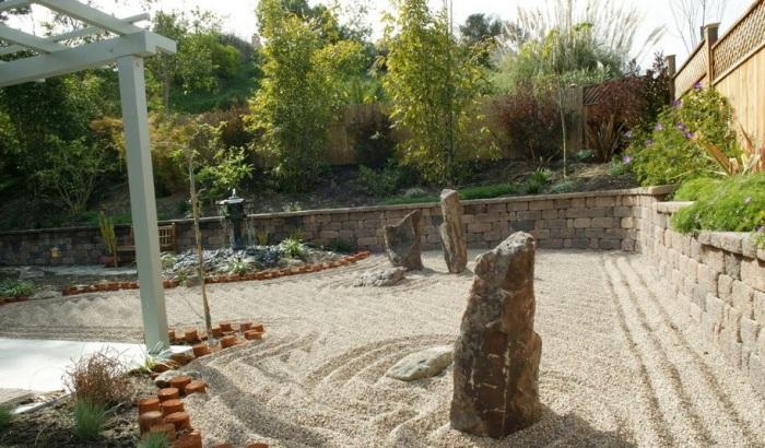 В современном ландшафтном дизайне камень один из самых широко применяемых материалов.