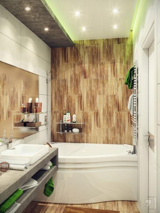 Классические решения, которые позволит решить проблему обустройства малогабаритной ванной комнаты.