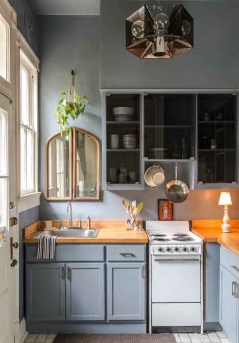 Угловая мебель, которая, стало быть, дозволит существенно сэкономить кухонное место.