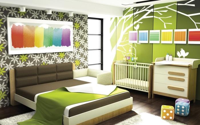 Учет возраста является обязательным элементом работы над дизайном детской комнаты.