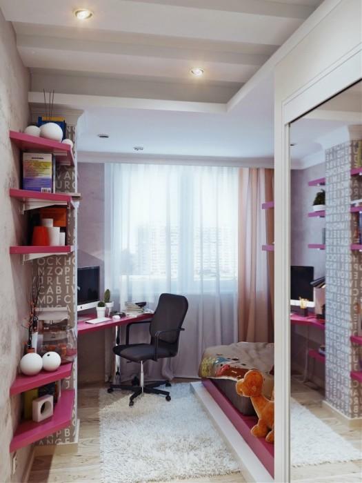 По мнению многих профессиональных дизайнеров, шторы - один из основных элементов в интерьере подростковой комнаты.