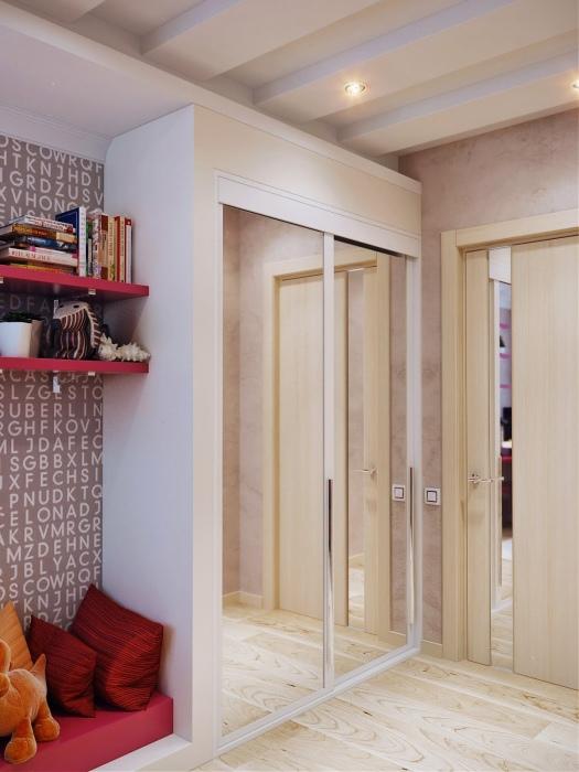 Хорошо обустроенная детская комната – одновременно спальня, игровая, гардеробная и место для учёбы.