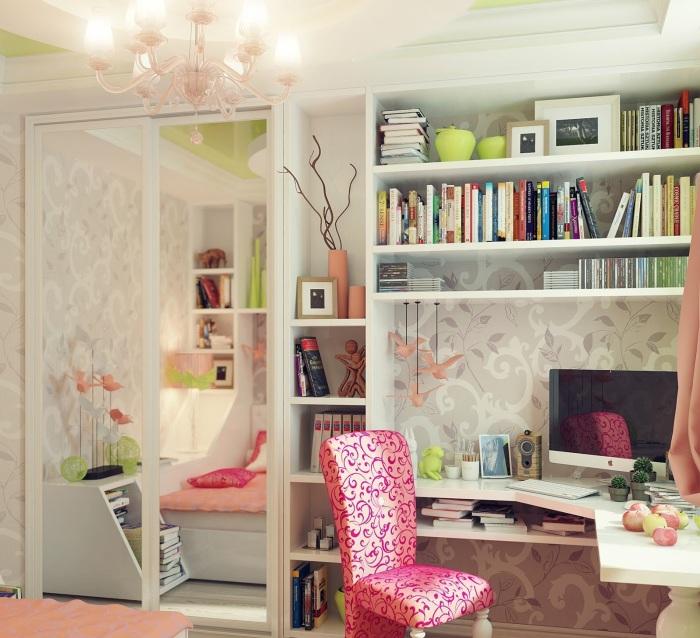 Современный дизайн интерьера диктует профессиональным дизайнерам новые веяния в создании подростковой комнаты.