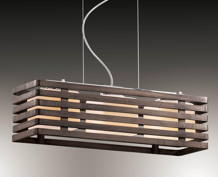 Подвесной светильник из дерева, который станет настоящей находкой для любого дизайнера.