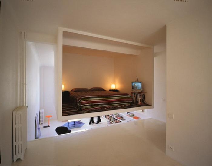 Один из лучших вариантов кроватей для взрослых и детей – конструкции, которые стремятся занять меньше пространства в помещении.