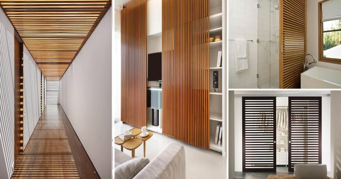 Креативные идеи использования деревянных панелей в современном интерьере