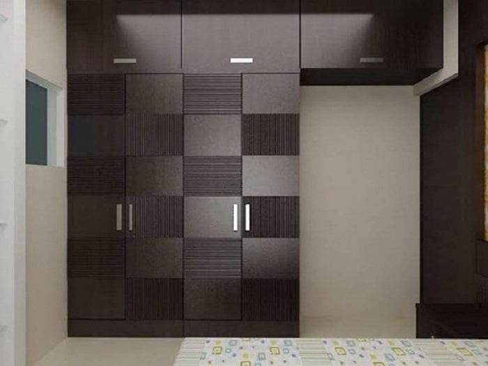 Модульная стенка из темной породы древесины - последний писк интерьерной моды.