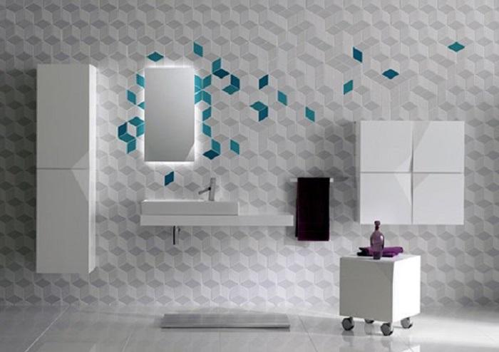 Актуальная форма и дизайн керамической плитки -  последняя тенденция и новинка дизайна 2017 года.