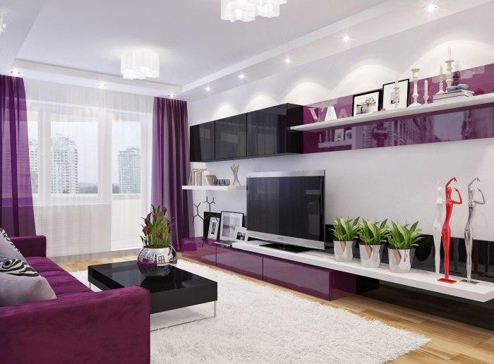 Ультрасовременные гостиные, подчеркивающие простоту и функциональность.