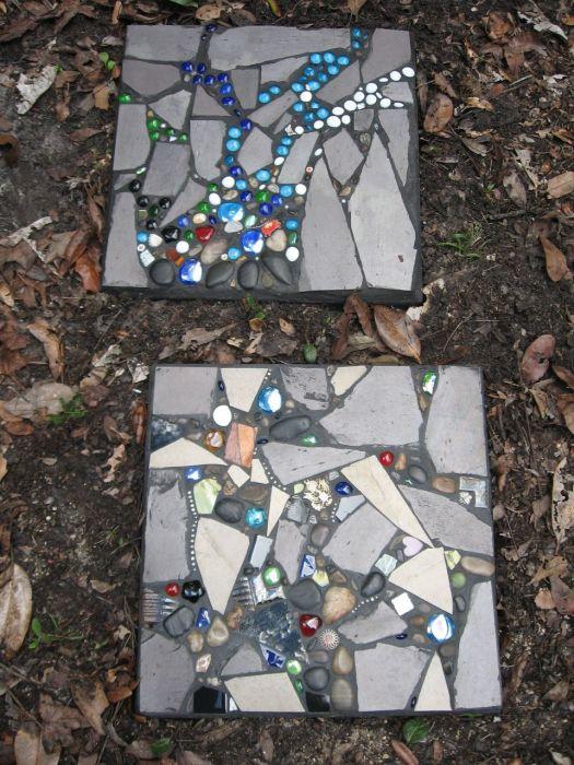 Садовая дорожка, которая выглядит как настоящее произведение искусства.