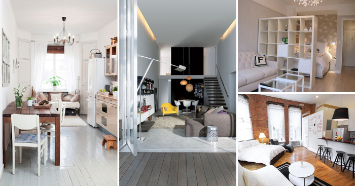 Восхитительные идеи, которые позволят увеличить пространство в малогабаритной квартире.