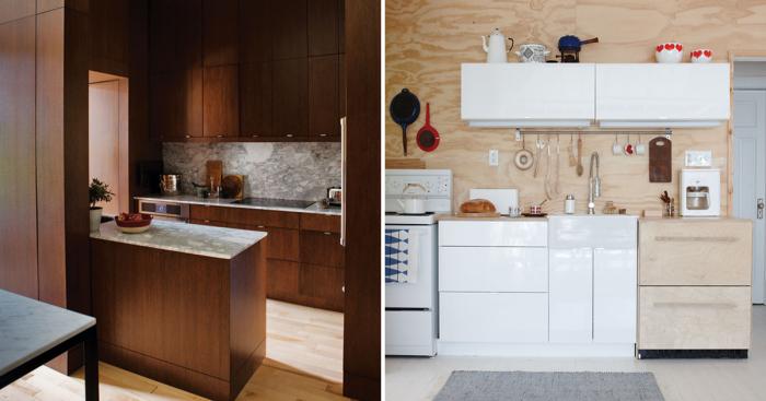 Восхитительные идеи, которые сделают интерьер маленькой кухни идеальным.