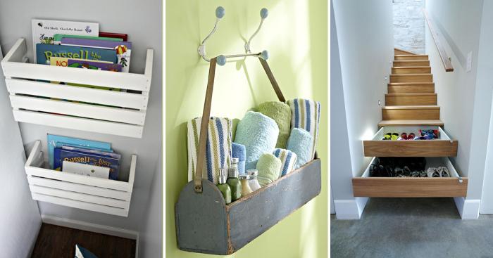 Идеи, которые помогут любой хозяйке навести порядок в доме.