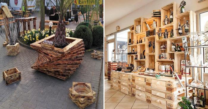 Простые идеи использования деревянных поддонов, которые придутся вам по вкусу.