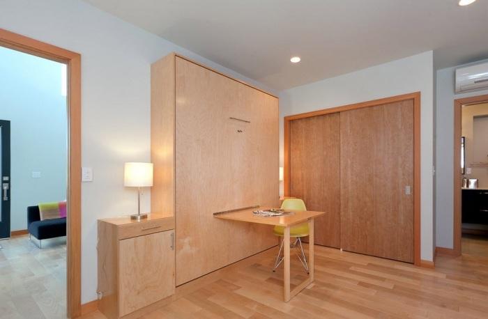 Трансформирующаяся мебель в минималистском интерьере всегда востребована и актуальна.