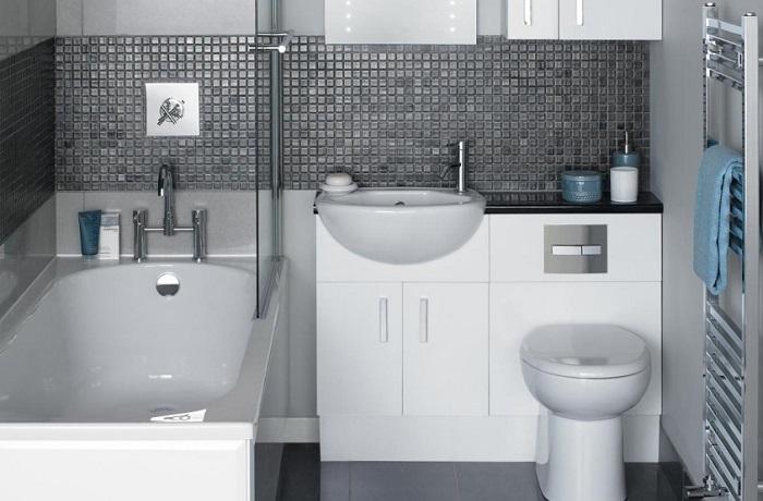 Великолепные идеи для крошечных ванных комнат.