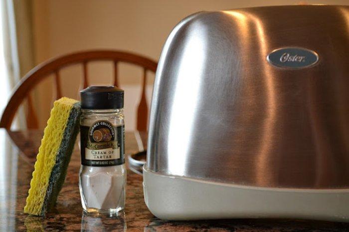Простое решение, которое поможет вам отполировать до блеска ваш тостер.