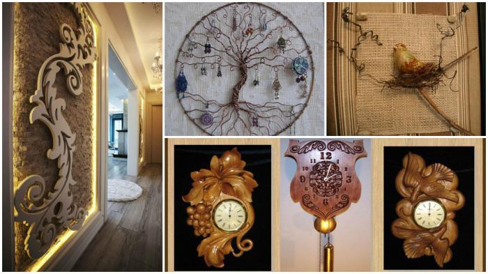 Примеры настенных украшений, которые помогут преобразить ваш дом.
