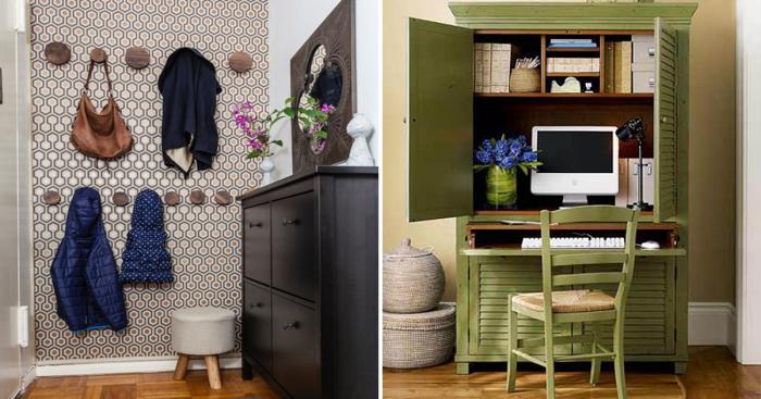 Великолепные идеи организации пространства в малогабаритной квартире.