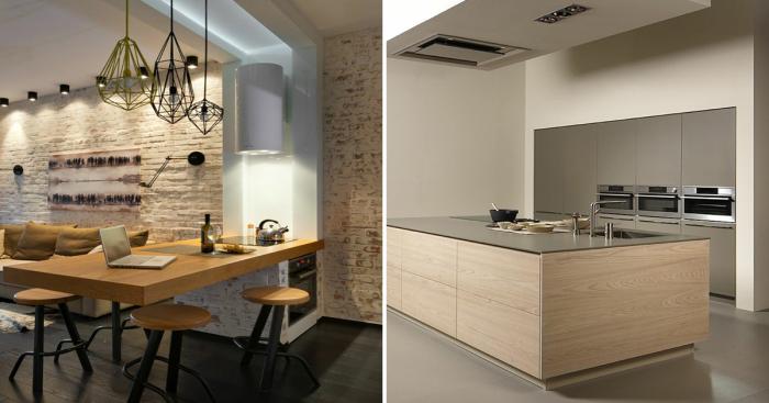Вдохновляющие идеи дизайна, которые сделают из кухни маленький шедевр.