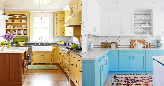 Стильные и практичные шкафы, которые сделают вашу кухню оригинальной и привлекательной.