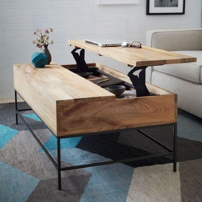 Раскладной столик для черчения - удобно, функционально и на редкость красиво.