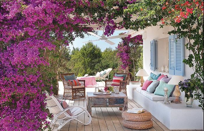 Чудесные идеи по обустройству летнего патио, которое станет местом волшебного отдыха.