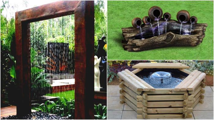 Удивительные деревянные фонтаны, которые вы должны увидеть.