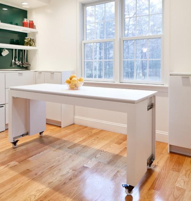 Технологическая конструкция в виде стола способна решить сразу несколько проблем.