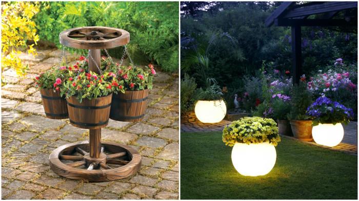 Вдохновляющие идеи для небольшого декоративного сада.