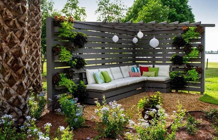 Дизайн садовый своими руками идеи 52