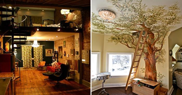 Практичные идеи, которые помогут преобразить жилое пространство в загородном доме.